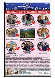 February 2017 Cover of the Blue Ridge Christian News