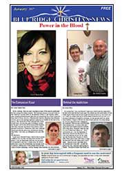 January, 2017 Blue Ridge Christian News Cover Page