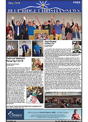 May 2018 Blue Ridge Christian News Cover