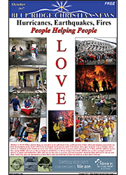 Cover of the October, 2017 issue of the Blue Ridge Christian News