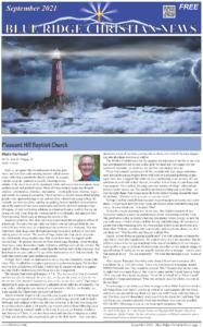 Blue Ridge Christian News September 2021 Issue