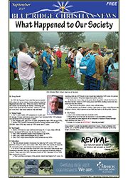 Cover of the September, 2017 Issue of the Blue Ridge Christian News