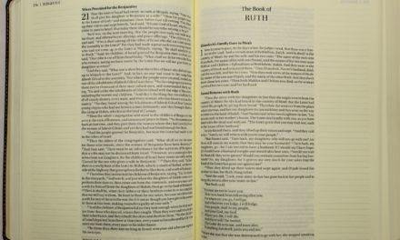 Ruth Offers Wisdom in Handling Unknowns | Marlene Houk