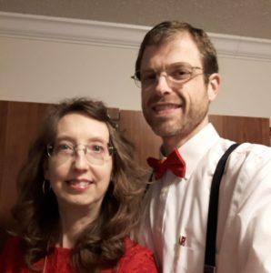Monica and Jason Kritz National Day of Prayer 2021 Mitchell County