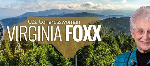 Foxx Report | US Congresswoman Virginia Foxx – NC 5th Congressional District