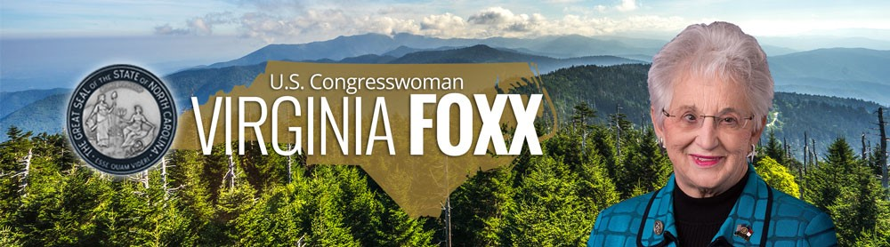 Foxx Report | US Congresswoman Virginia Foxx – NC 5th Congressional District