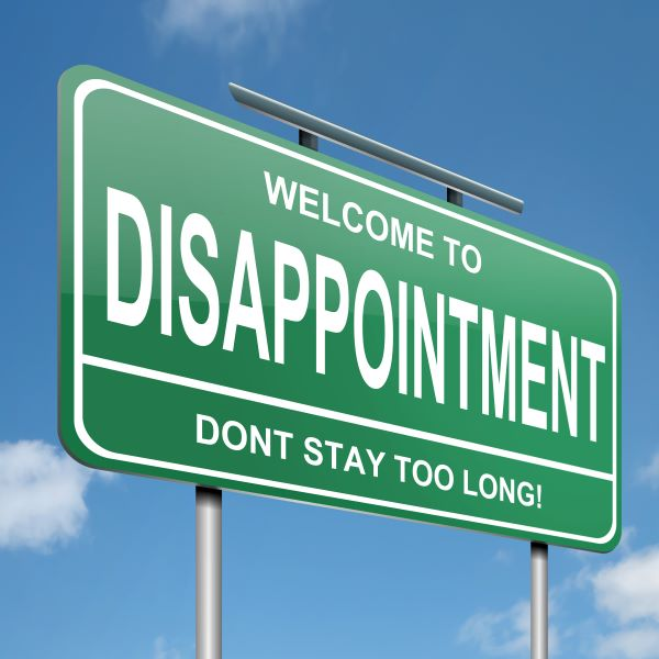 Living Through Disappointments