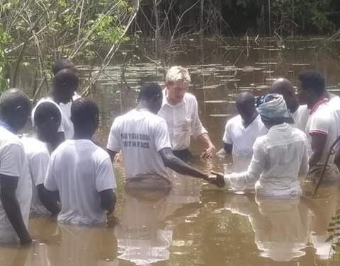 Praise the Lord 49 Baptized in Liberia