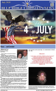 July 2020 Front Page