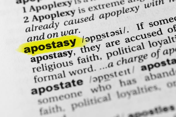 Apostasy Predicted