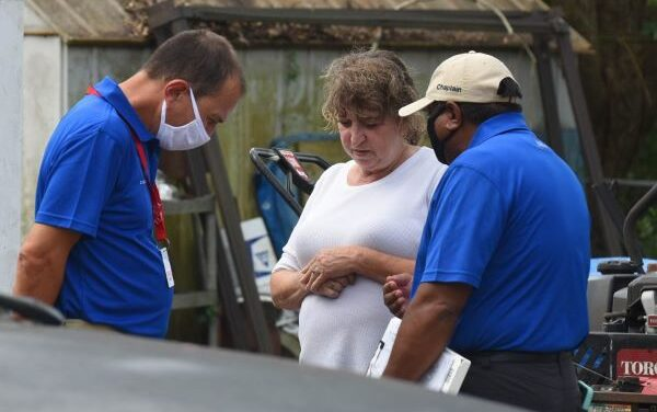 Rapid Response Team Ministering to Hurricane-Ravaged Communities