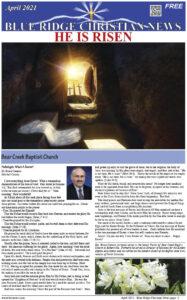April 2021 Front Page