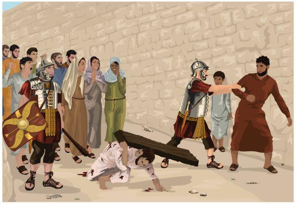 Bearing The Cross – Simon of Cyrene