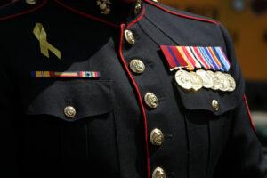 Christian in military uniform shawn thomas