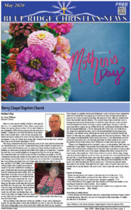 May 2021 Blue Ridge Christian News Cover