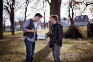 get personal with your testimony sharing Bible, John Sorensen Evangelism explosion international