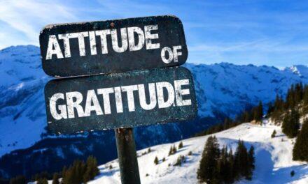 Attitude of Gratitude…Out Loud