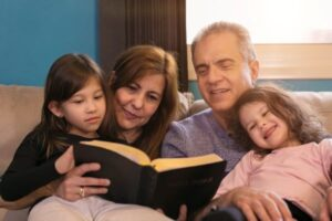 good each time grandparents reading Bible to grandkids Toby Crowder Mitchell County
