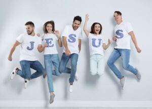 Jesus heavenly living on earth