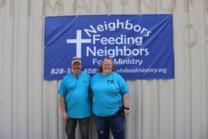 amy hoilman and allen hoilman neighbors feeding neighbors