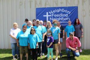 neighbors feeding neighbors mitchell county