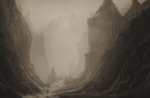 deep dark valleys of life